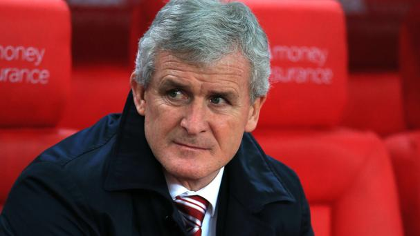 Stoke manager Mark Hughes played for Chelsea between 1995 and 1998