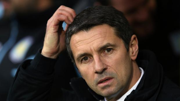 Aston Villa boss Remi Garde was left frustrated in his efforts to bring a new goalkeeper