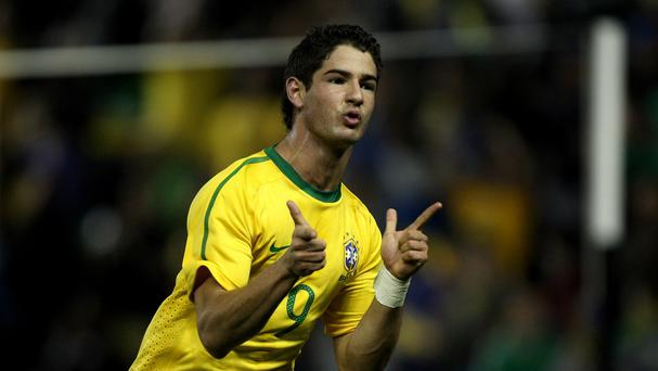 Alexandre Pato has joined Chelsea on loan