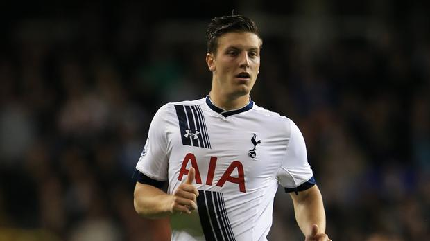 Kevin Wimmer, pictured, is set to fill in for the injured Jan Vertonghen