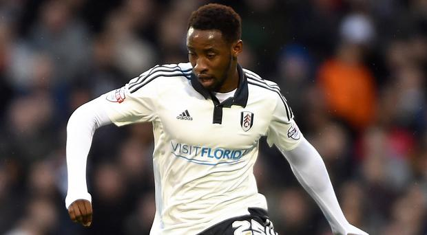 Fulham striker Moussa Dembele is undergoing a medical at Tottenham