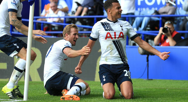 Tottenham duo Harry Kane and Dele Alli are said to be Manchester United targets.
