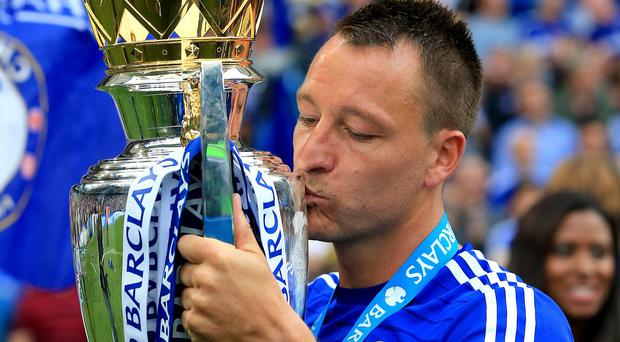 John Terry has lifted 15 trophies while captain of Chelsea