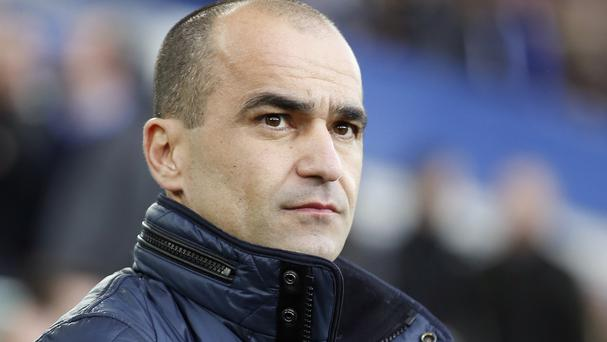Roberto Martinez, pictured, has made a late deadline-day signing with the capture of Oumar Niasse