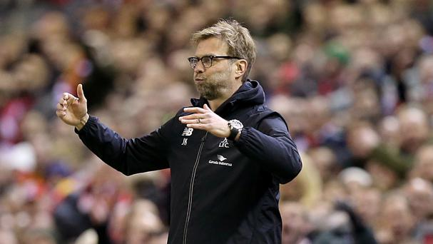 Jurgen Klopp believes Liverpool's next three matches could define their top-four chances