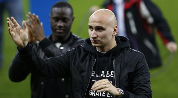 Jonjo Shelvey, right, and Henri Saivet, left, were among a large Newcastle spending spree