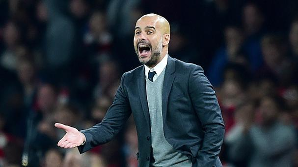 The arrival of Pep Guardiola, pictured, in the Premier League this summer will provide inspiration for other managers, Roberto Martinez believes