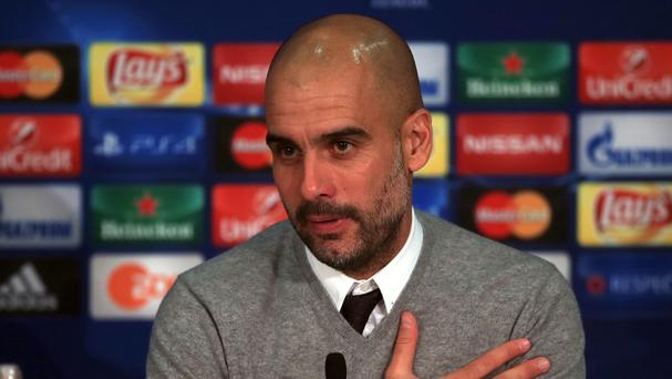 Pep Guardiola will begin a three-year contract with Manchester City this summer.