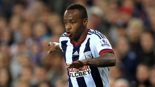 Saido Berahino was the subject of a bid from Newcastle
