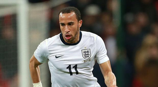 England winger Andros Townsend was one of Newcastle's captures during the January transfer window