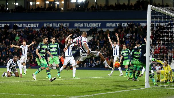 Salomon Rondon snatched a point for West Brom late on