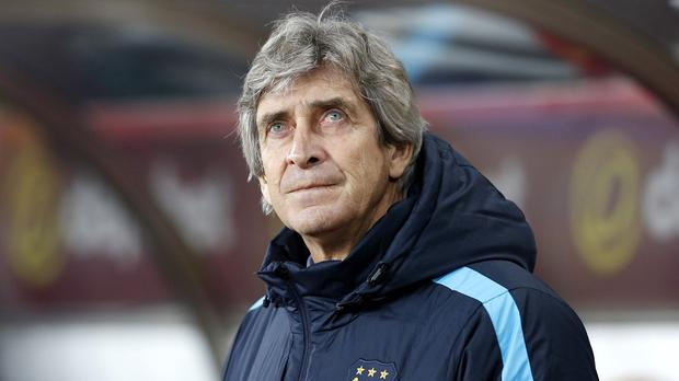 Manuel Pellegrini, pictured, is refusing to be distracted by the impending arrival of Pep Guardiola