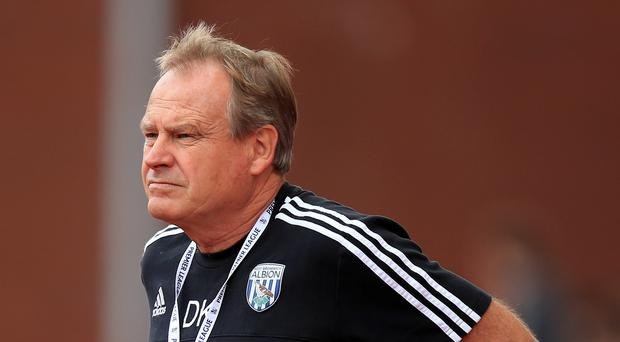 Assistant boss David Kemp watched West Brom miss many chances to score