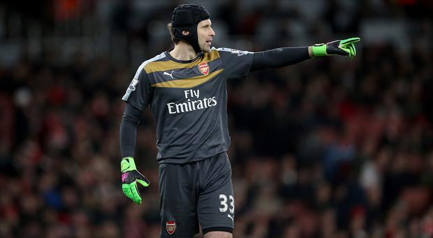 Arsenal goalkeeper Petr Cech, pictured, saw Southampton counterpart Fraser Forster impress at the Emirates on Tuesday