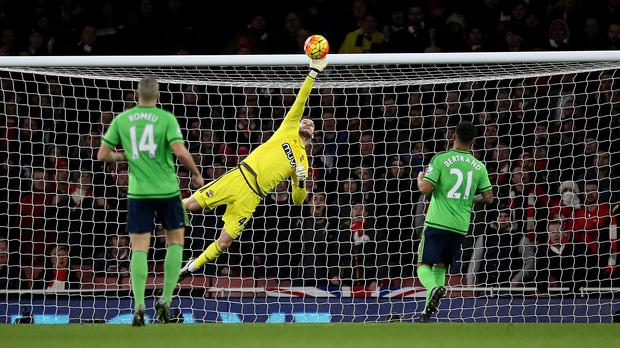Fit-again Fraser Forster has not conceded a goal in four matches since returning to the Southampton side
