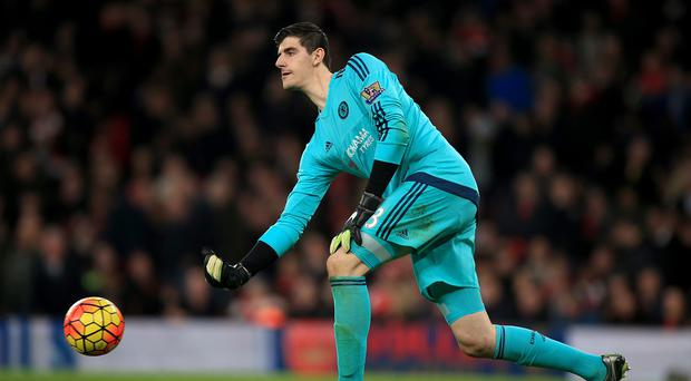 Thibaut Courtois took little consolation from Chelsea extending their unbeaten run to 10 games