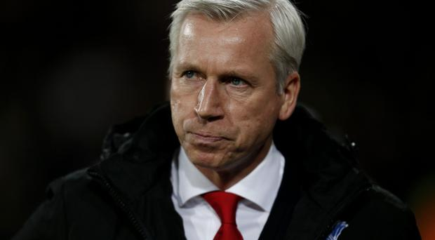 Crystal Palace manager Alan Pardew wants more from his strikers