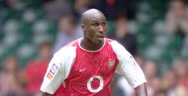 Sol Campbell got very deep as he looked forward to Arsenal v Chelsea at Wembley