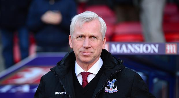 Crystal Palace manager Alan Pardew has seen his side lost five league games on the trot