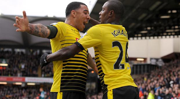 Troy Deeney and Odion Ighalo are irreplaceable for Quique Sanchez Flores