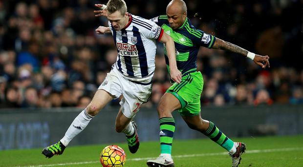 Darren Fletcher, left, came in for some stick from Swansea fans in midweek