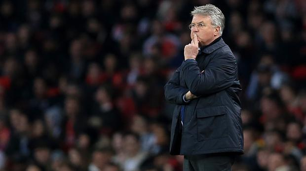 Chelsea interim boss Guus Hiddink says merely keeping the ball is not enough in England
