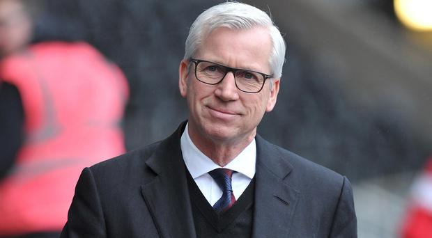Manager Alan Pardew was relieved that his Crystal Palace side ended their five-match losing streak