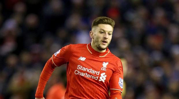 Liverpool forward Adam Lallana admits the players have to take the blame for throwing away a 2-0 lead.