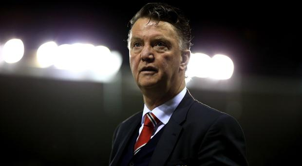 Manchester United manager Louis van Gaal hit back at speculation over his future