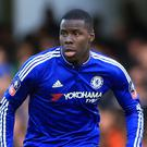 Chelsea's Kurt Zouma's reaction to Nemanja Matic's stunning Wembley goal has gone viral