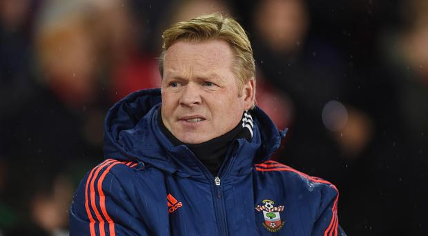 Southampton manager Ronald Koeman is impressed by Frazer Forster since his return