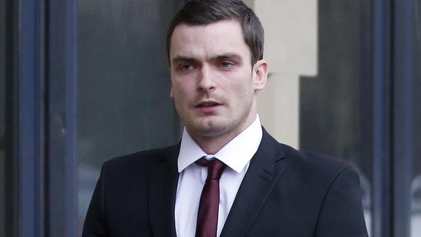 Adam Johnson went on trial at Bradford Crown Court on Friday