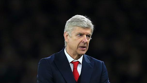Arsene Wenger's Arsenal welcome leaders Leicester to the Emirates Stadium on Sunday