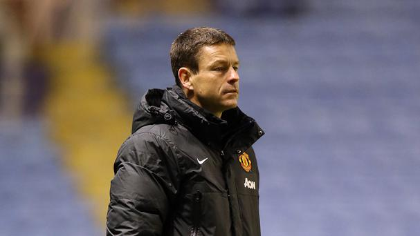 Paul McGuinness has left his role as Manchester United youth coach