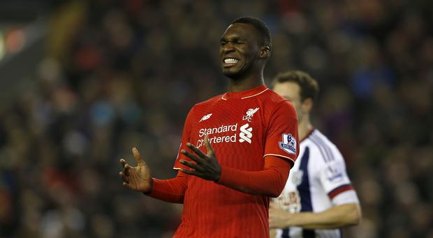 Christian Benteke has scored just seven times in 30 games for Liverpool