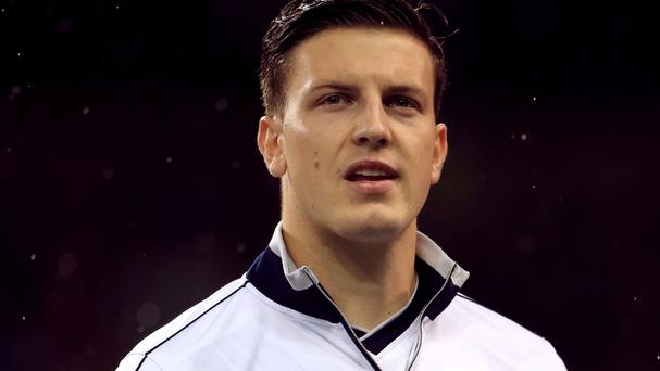 Kevin Wimmer can expect a tough task against Sergio Aguero on Sunday