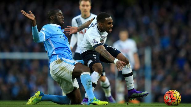 Danny Rose, right, was influential at both ends of the pitch
