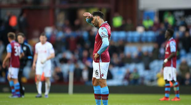 Joleon Lescott had a day to forget