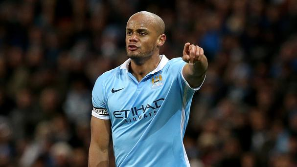 Vincent Kompany's return to the Manchester City first XI could not prevent a 2-1 loss to Tottenham