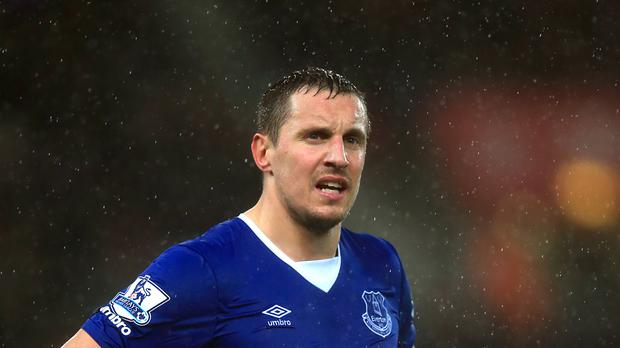 Everton captain Phil Jagielka is standing by his criticism of referee Martin Atkinson