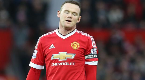 Wayne Rooney is not part of Manchester United's squad for the match against FC Midtjylland