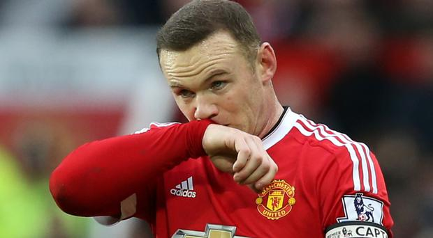 Wayne Rooney is out injured