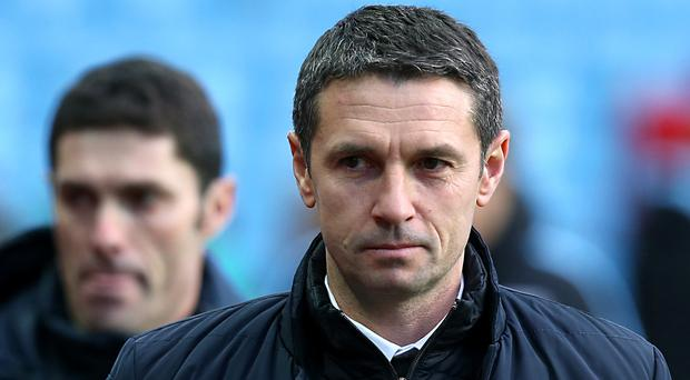 Remi Garde, pictured, replaced Tim Sherwood as Aston Villa manager in November