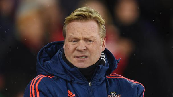 Ronald Koeman, pictured, is looking forward to welcoming Guus Hiddink to St Mary's