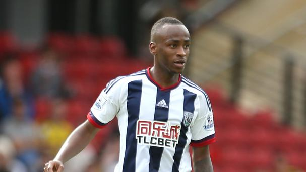 West Brom's Saido Berahino has scored six goals for the Baggies this season