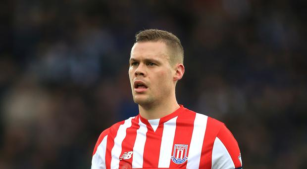 Stoke captain Ryan Shawcross has been hampered by back problems.