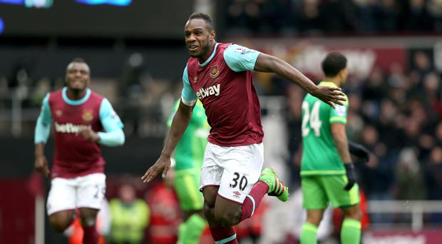 Michail Antonio's, pictured, first-half goal left former West Ham boss Sam Allardyce empty-handed