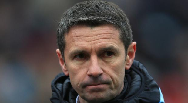 Remi Garde felt a lack of quality and not effort was why Villa lost at Stoke