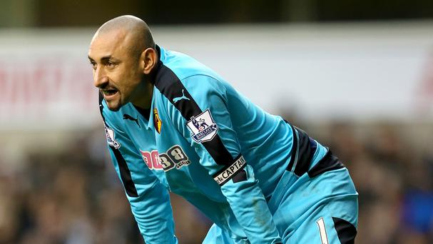 Heurelho Gomes starred for Watford against Bournemouth