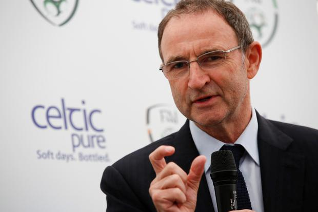 Martin O'Neill. Photo: Conor McCabe